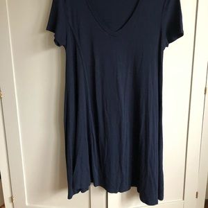 Zara Swing style V neck dress